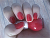 Blood Red Nails