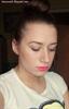 Matte neon pink lips